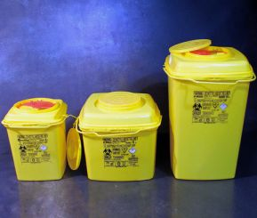 Safety Container, Square format, 10L